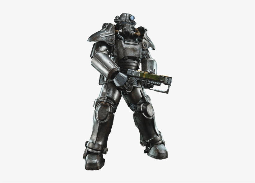 Fallout 4 Power Armor Png - Three Zero Fallout 4 T-45 1/6 Scale Figure, transparent png #2335066