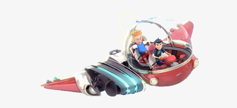 Meet The Robinsons Images Transparent Time Machine - Meet The Robinsons Ship, transparent png #2335185