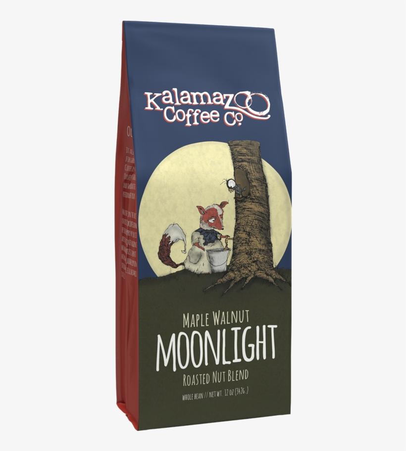 Moonlight Maple Walnut - Kalamazoo Coffee Loretta Very Dark Italian Roast 12oz, transparent png #2338107