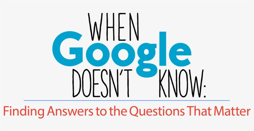 When You Need Answers, Where Do You Turn Search Engines - Question, transparent png #2338381