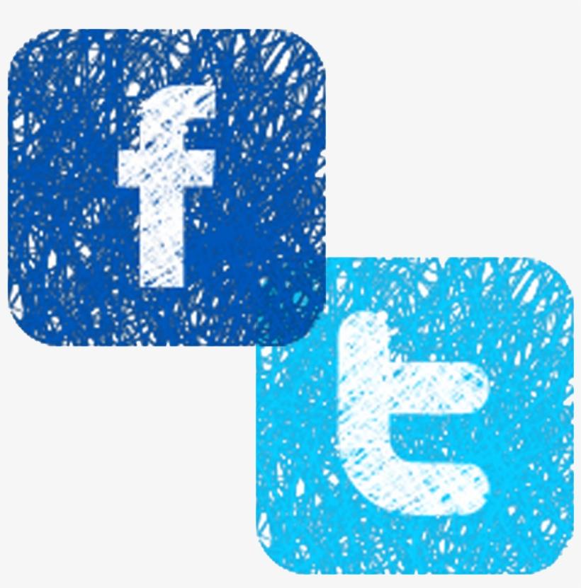 Facebook Twitter Instagram Logo Png - Facebook, transparent png #2345799