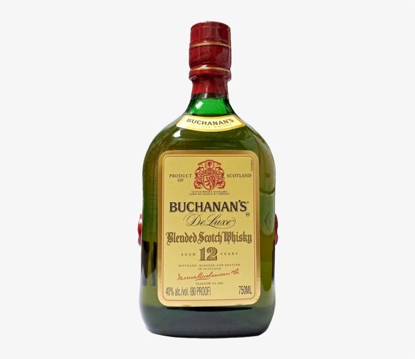 Buchanan's - Buchanan's Blended Scotch Whisky - 750 Ml Bottle, transparent png #2346804