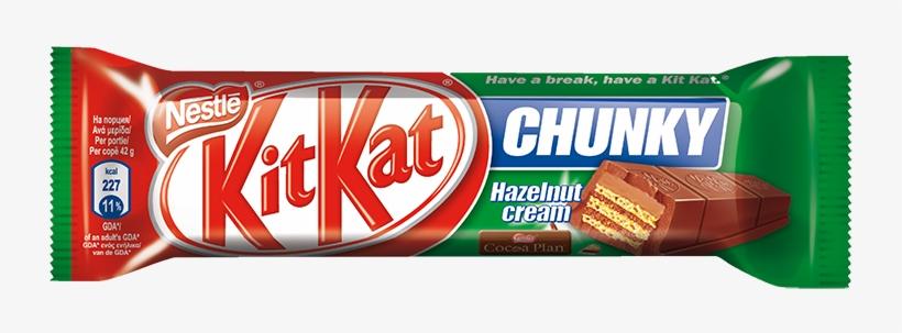 02 Kitkat Fçndçk Kremalç 42g - Chocolate Kit Kat Chunky, transparent png #2359695