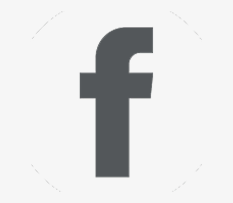 Clickable Facebook Icon - Facebook Icon Grey Png, transparent png #2363290