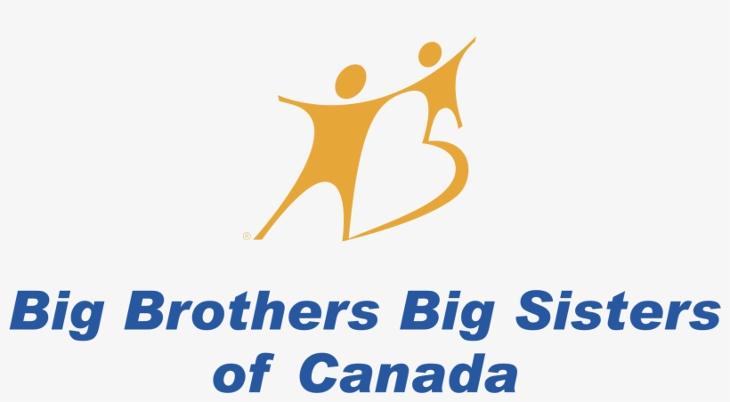 Big Brothers Big Sisters Of Canada 01 Logo Png Transparent - Big Brother Big Sister Canada Logo, transparent png #2363404