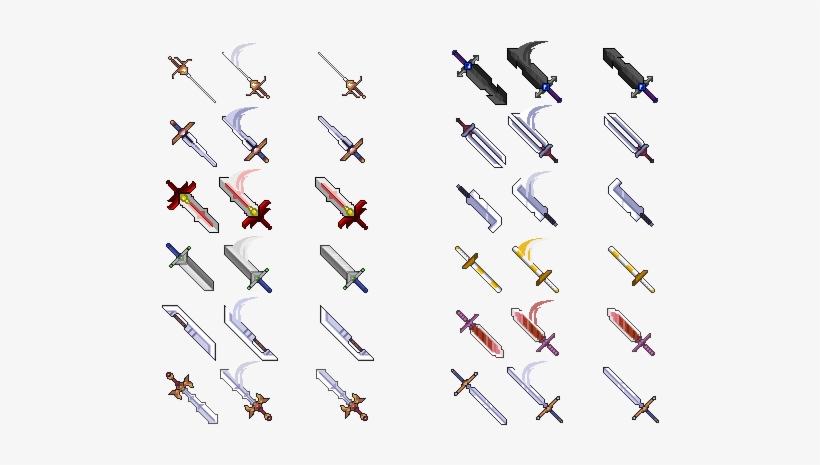 Img] - Rpg Maker Mv Weapon Sheets - Free Transparent PNG Download