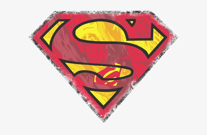 Superman Shield Png For Kids - Vector Superman Logo Png, transparent png #2367507