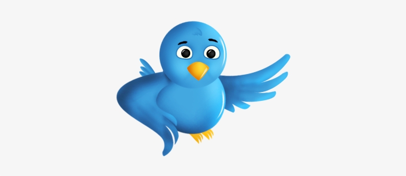 File - Twitter Bird, transparent png #2370660