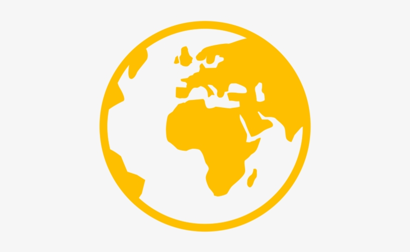 High Quality, Unique Nuggets - World Map Icon, transparent png #2372198