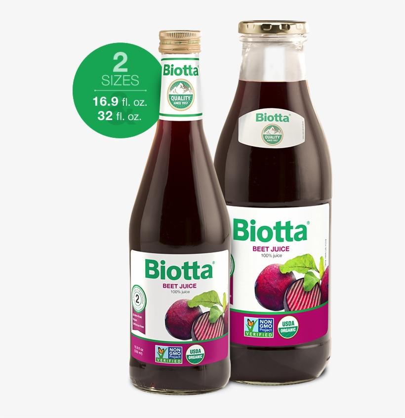 Beet Juice - Biotta - Organic Beet Juice - 32 Fl. Oz., transparent png #2373984
