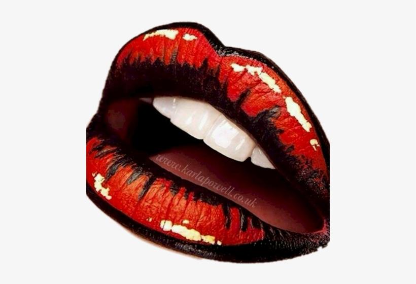 Pop Art Make Up Lips, transparent png #2381117
