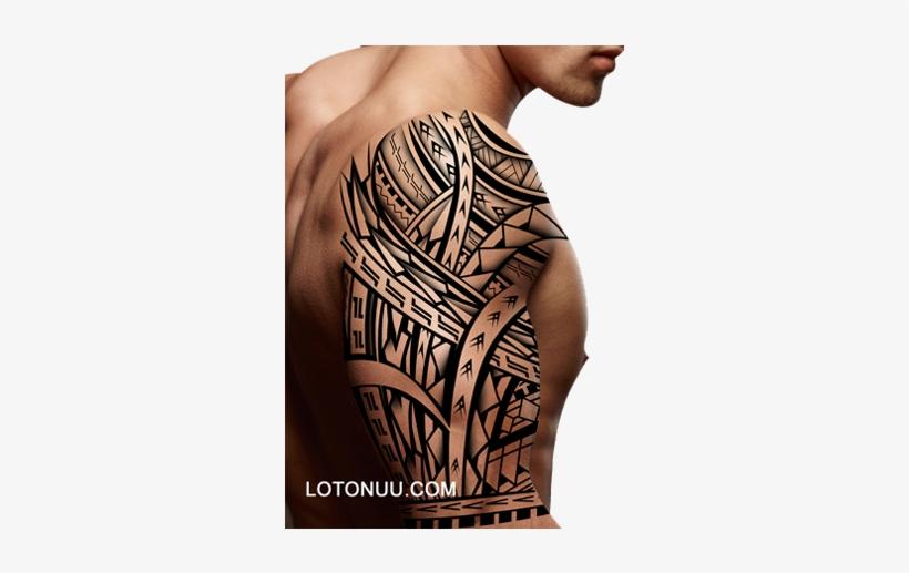 Samoan Tattoos Online - Lotonuu Tattoo Designs, transparent png #2386391
