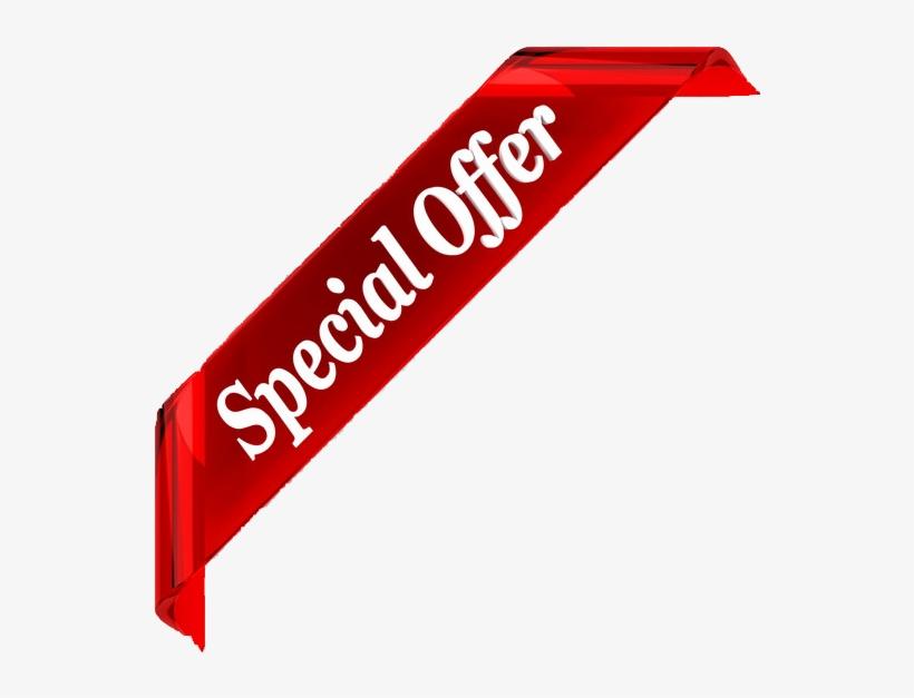 Edited Special Offer Banner Transparent - Special Offer Banner Png, transparent png #2387008
