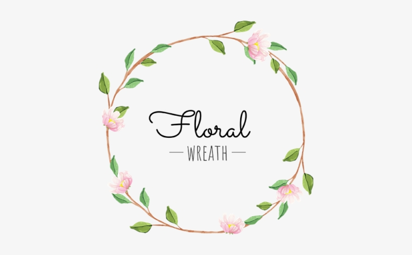Flower Wreath Flower Wreath Green Png And Vector Logo Coroa De