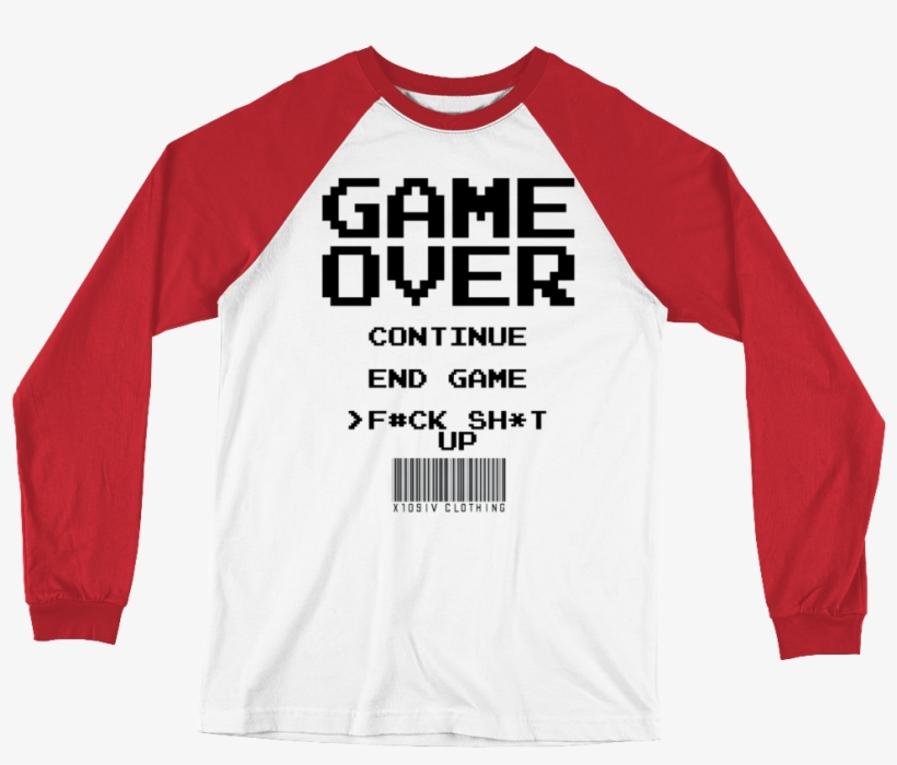 Game Over Men's Baseball T-shirt - Anything You Can Do I Can Do Bleeding, transparent png #2391973