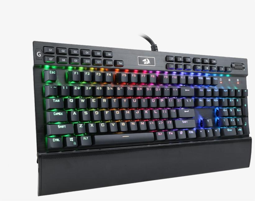 Redragon Mechanical Gaming Keyboard, transparent png #2392214
