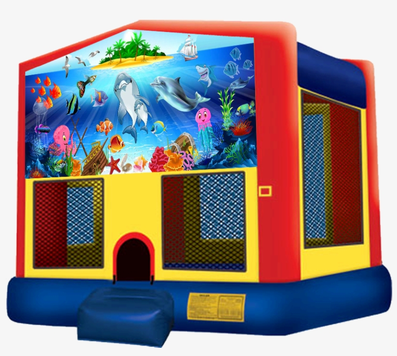 Under The Sea Bounce House Rentals In Austin Texas - Pj Mask Bounce House, transparent png #2392425