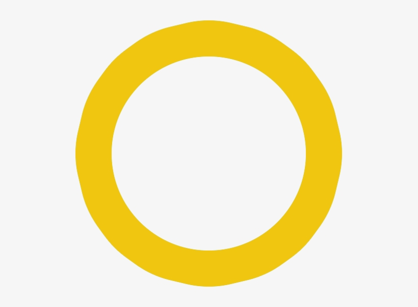 Find Out More - Yellow Circle Outline Png - Free Transparent