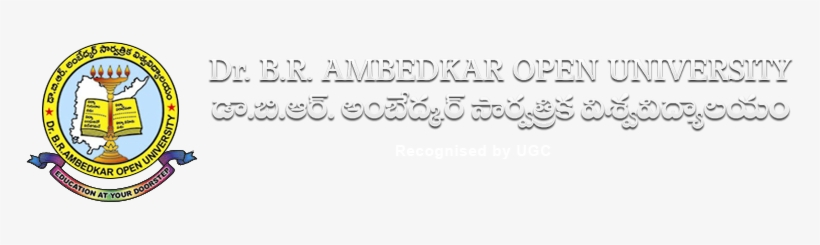 Dr Braou M - Dr Br Ambedkar Open University, transparent png #2394384