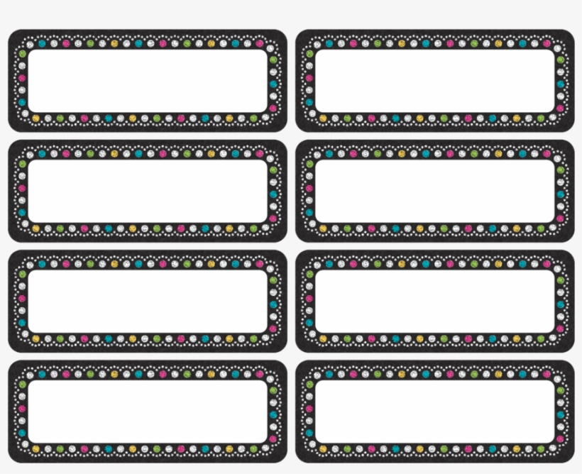 Clingy Thingies Chalkboard Brights Mini Labels - Even The Hulk Washes His Hands, transparent png #2397844