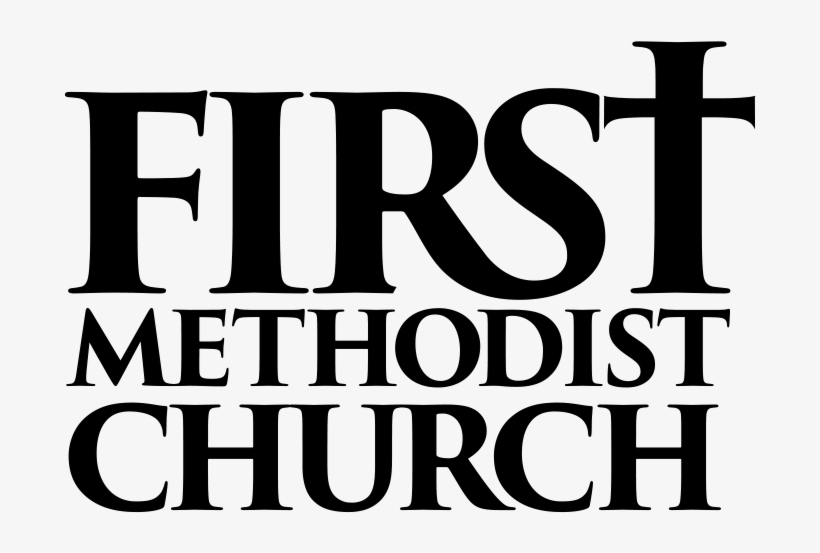 1st Meth Logo Blk Type Only - Christian Church, transparent png #2398075