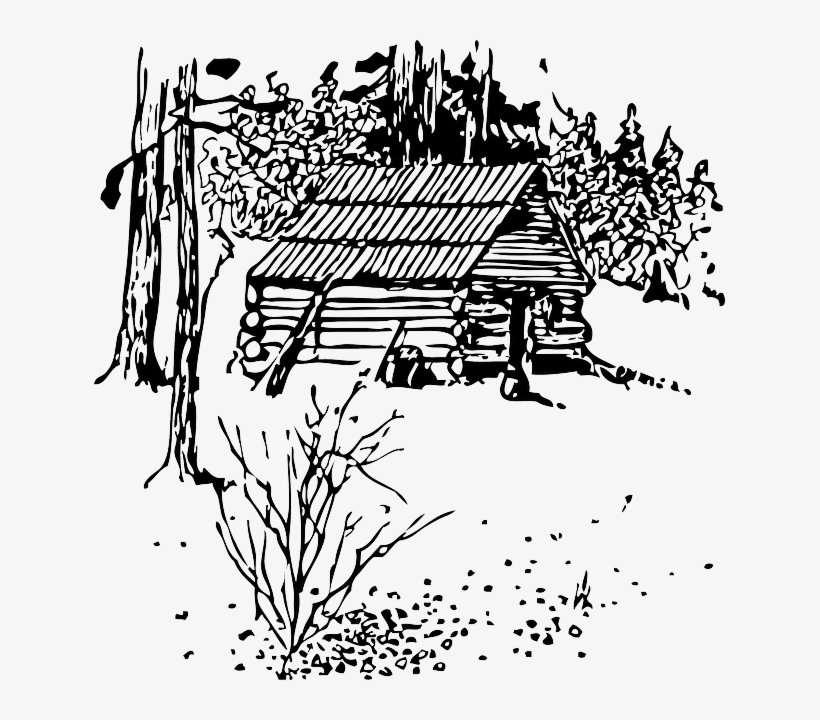 House, Home, Outline, Cartoon, Wood, Log, Automatic - Uncle Tom's Cabin - Genral Books English, transparent png #2399841