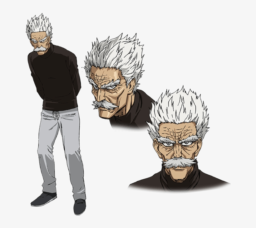'one Punch Man' Season 2 Spoilers - One Punch Man Silver Fang Png, transparent png #240245
