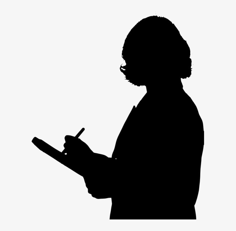 Teacher Png Clipart - Professional Woman Silhouette Png, transparent png #240743