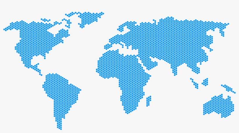 Cropped Dotted Missiology Com - Dotted World Map Png, transparent png #240820