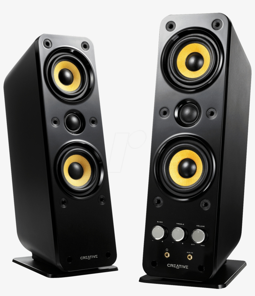 Creative Gigaworks T40 Series Ii - Creative Gigaworks T40 Series Ii Speakers - For Pc, transparent png #242304