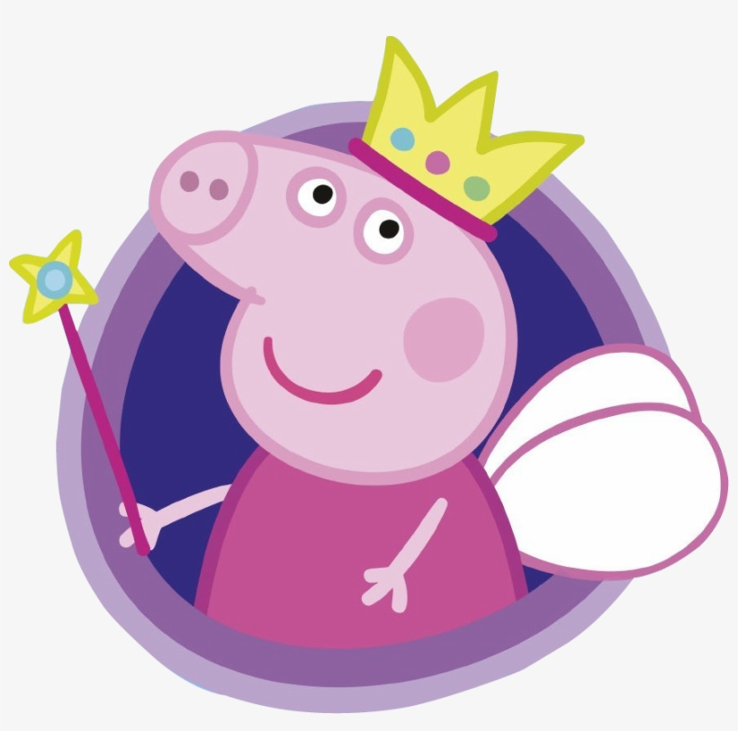 Peppa Pig Princess Png Clip Freeuse Stock - Peppa Pig Fairy Tale Little Library (board Books), transparent png #242436