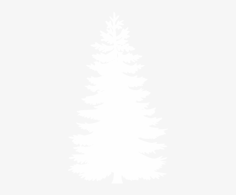 White Pine Tree Clipart Clipart Free - Pine Tree Vector White, transparent png #242635