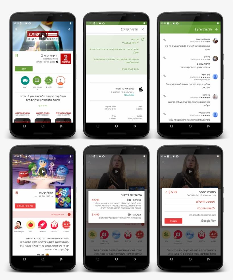 Evolution Of Google Play - Google Play Evolution, transparent png #244334