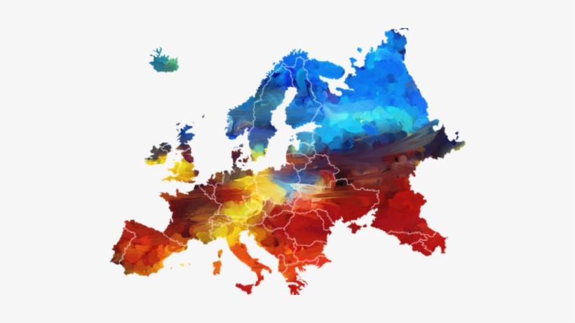 Medium Europe 2239718 - Europe Map Vector Png, transparent png #245173