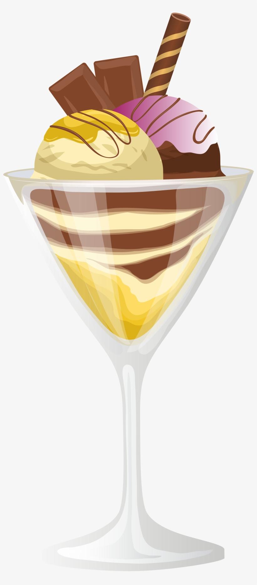 Ice Cream Sundae Png Clip Art - Ice Cream Sundae Png, transparent png #245311