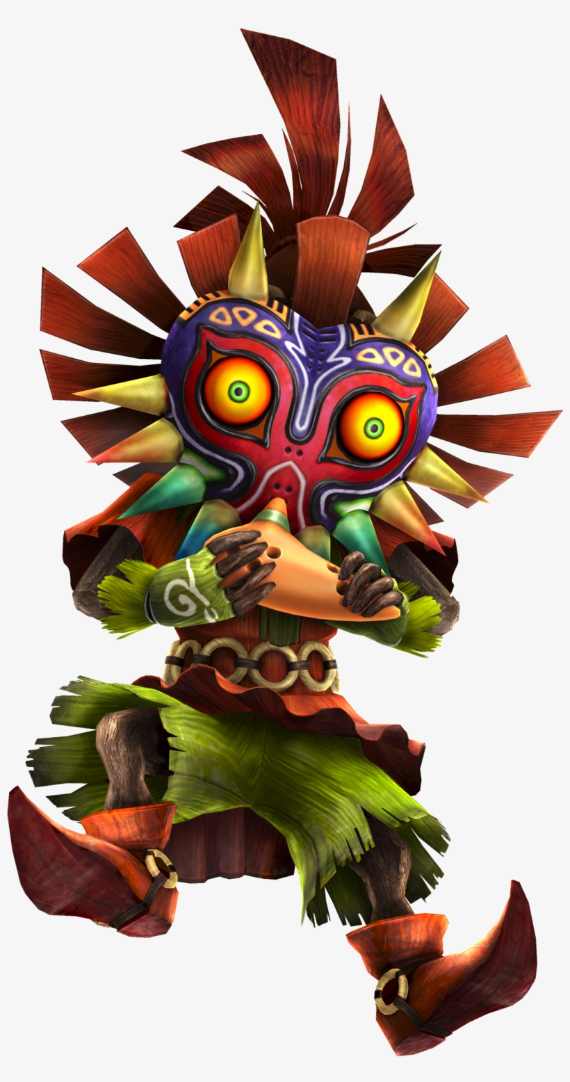 Skull Kid Ocarina - Skull Kid, transparent png #245397