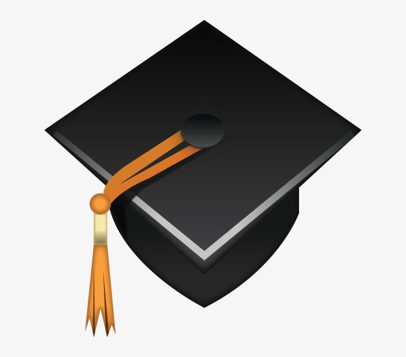 Picture Library Download Download Cap Emoji Icon Island - School Emoji Transparent Background, transparent png #245982
