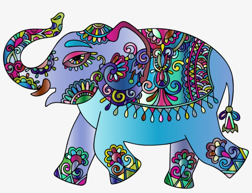 All Photo Png Clipart - Indian Elephant Art, transparent png #246498