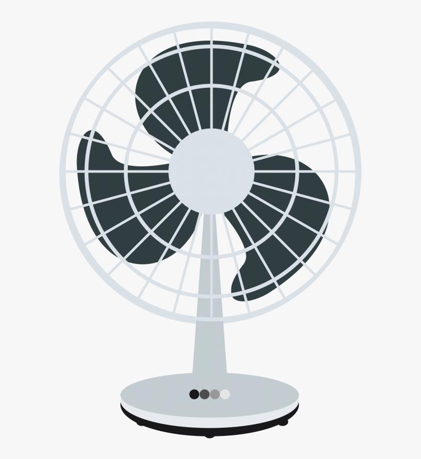 Free Desk Fan Clip Art - Clip Art Fan, transparent png #247010