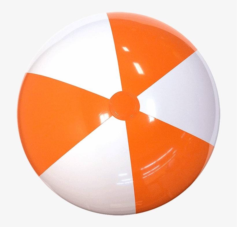 Beach Balls Png Clip Free Stock - Orange Beach Ball, transparent png #248368