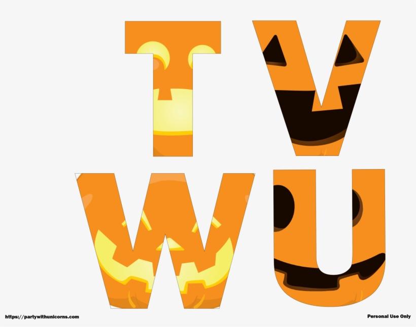 image regarding Halloween Letters Printable identify Halloween Letters Printable Jack O Lantern Faces Social gathering