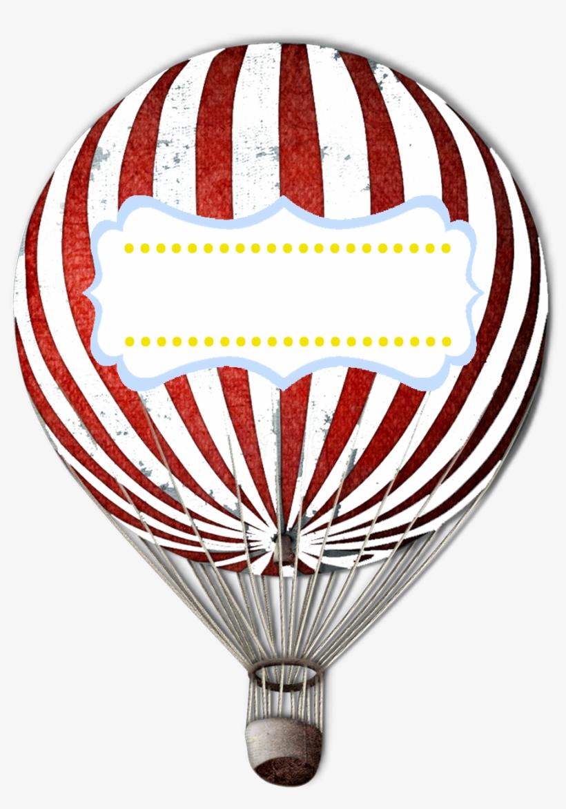 Victorian Clipart Hot Air Balloon - Printable Hot Air Balloon Free, transparent png #249065
