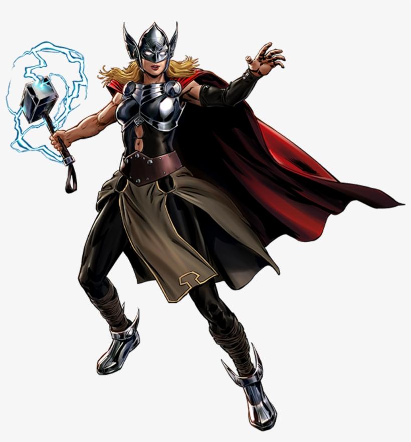 Thor Comics Jane Foster - Avengers Secret Wars Jane Foster Thor, transparent png #2401600