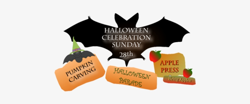 Halloween - Neighborhood Events - Silhouette Clip Art Bats, transparent png #2402769
