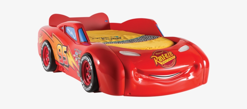 Lightning Mcqueen Bed Png Free Transparent Png Download