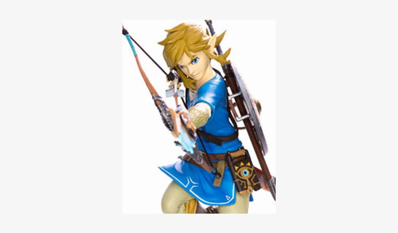 The Legend Of Zelda Breath Of The Wild Pvc Statue Link - Legend Of Zelda - Breath Of The Wild Statue, transparent png #2403481
