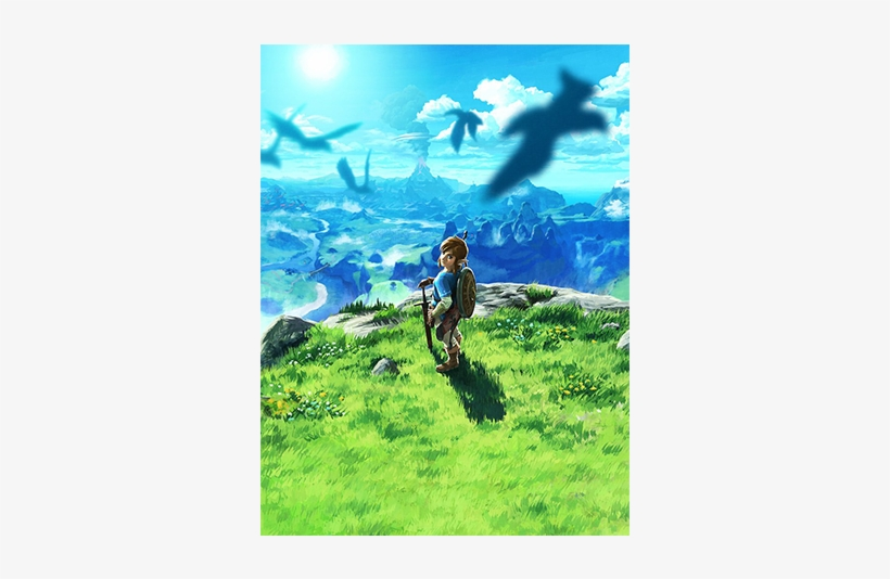 With The Series Of The Legend Of Zelda 30th Anniversary-themed - Nintendo The Legend Of Zelda: Breath, transparent png #2403583