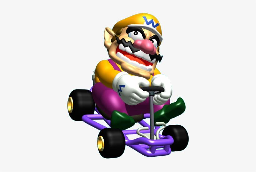 Wario Mario Kart 64 Png Free Transparent Png Download Pngkey