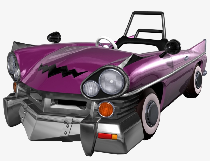 No One's Modeled A Real Life Car To Look Like Wario - Mario Kart Double Dash Wario Car, transparent png #2404765
