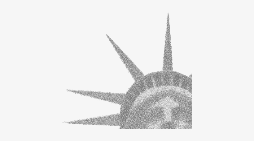 Old-style Us Wall Maps Did Not Illustrate Basic Us - Statue Of Liberty Crown Png, transparent png #2408503
